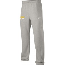 Kelso Youth Baseball 20: Adult-Size - Nike Team Club Fleece Training Pants (Unisex) - Gray With Choice of Logo