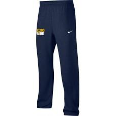 Kelso Youth Baseball 21: Youth-Size - Nike Team Club Fleece Training Pants (Unisex) - Navy With Choice of Logo